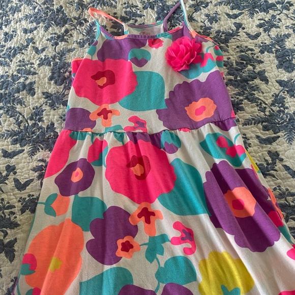 children's place kids floral dress